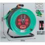 日動工業(NICHIDO) [ND-EK34] 100V過負荷漏電しゃ断器付 NDEK34【キャンセル不可】