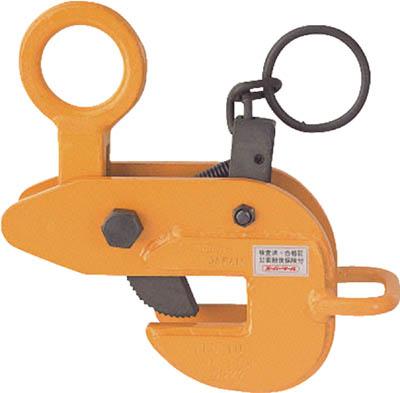 スーパーツール [HLC-3U]「直送」【代引不可・他メーカー同梱不可】 横吊クランプ(ロックハンドル式・先割型)