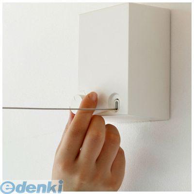 森田アルミ [PID4M] ピッドヨンエム 室内物干ワイヤータイプ 4m 壁付タイプ 色:白