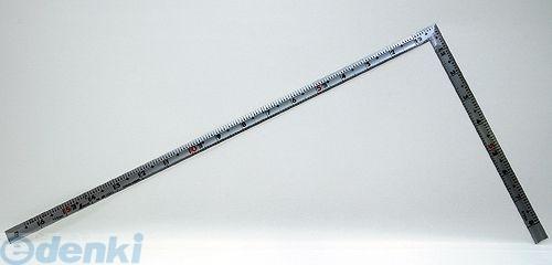 シンワ測定 [10655] 曲尺同厚 シルバー 1尺6寸 裏面角目 名作