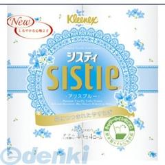 日本製紙クレシア [4901750251000] システィ4R ダブル40m ブルー×10