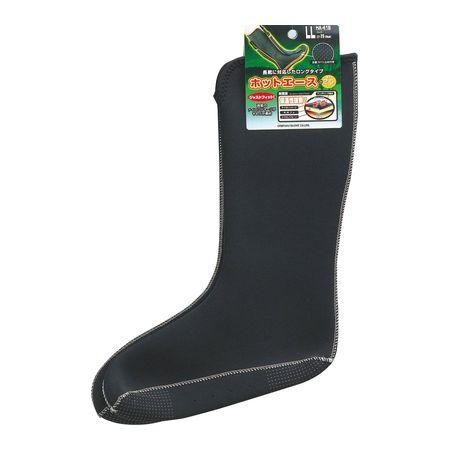 おたふく手袋  4970687291250 HA−418 インナーソックス ロング 厚地タイプ