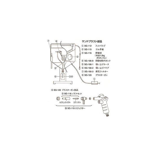ホーザン [SG-106-2] 吸い上げパイプ (SG−106用)