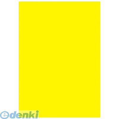 ササガワ [11A1902] 黄ポスター A4判 無地【AKB】