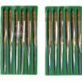 ツボサン TSUBOSAN HA012-02 組ヤスリ 12本組 半丸 中目 HA01202