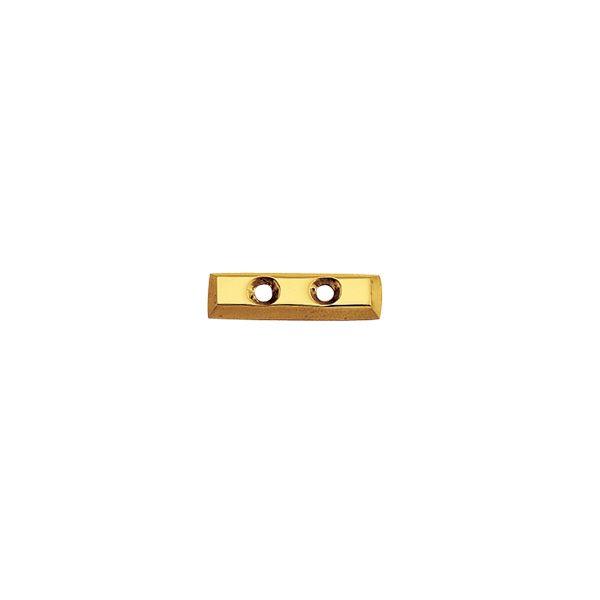 ゴーリキアイランド 820329 真鍮製切り文字 76サイズ ブラスレター 金色 76mm − ハイフン 真鍮 アンティーク レトロ 表札文字