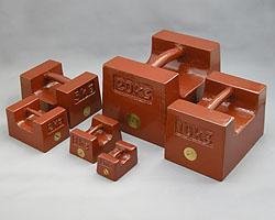 村上衡器製作所 [MURAKAMI0301] 鋳鉄製まくら型分銅M1級1kg