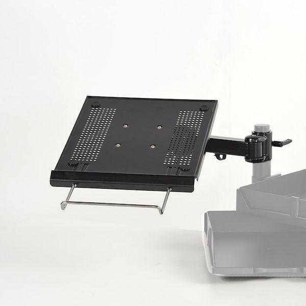 サンコーレアモノショップ MARMP335B ノートパソコン用4軸式アーム ポール取り付け用部品