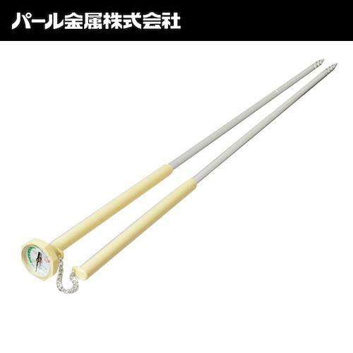 パール金属 4976790235051 天ぷら フライ用 はし 油温度計付 便利小物 日本製 C−3505