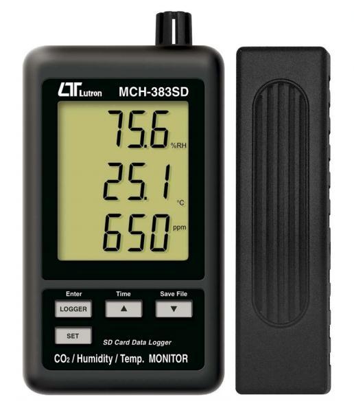 マザーツール [MCH-383SD] データロガーCO2温湿度SDカードモニター