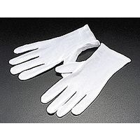 アルファミラージュ [601-014M] 白手袋(コットン)12組1セット サイズM