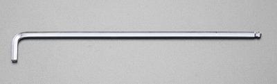 エスコ [EA573EE-10] 10mm x374mm 超ロング六角棒レンチ (ボールポイント付)【キャンセル不可】