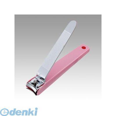 木村刃物 [HPN-105AP] 全カバー付き爪切り ピンク【1個】