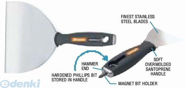 ALLWAY TOOL [V091682] SX8F テープナイフ 軟刃 ステン 200