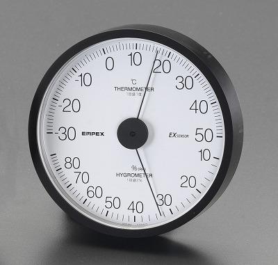 【キャンセル不可】エスコ [EA728EB-45] 120mm 温度・湿度計
