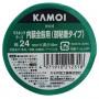 カモ井  W-52 カモイマスキングテープミント 24mm×18m W52