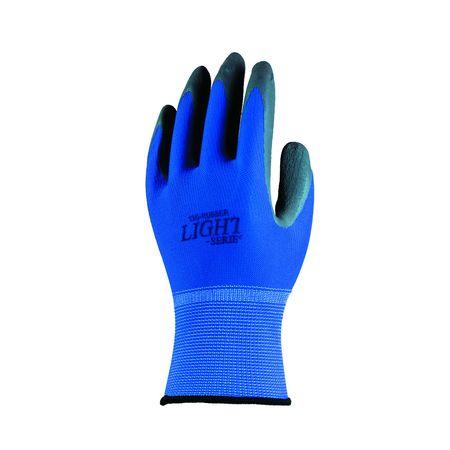おたふく手袋  4542365003051 A−385 13G天然ゴム背抜き手袋10P