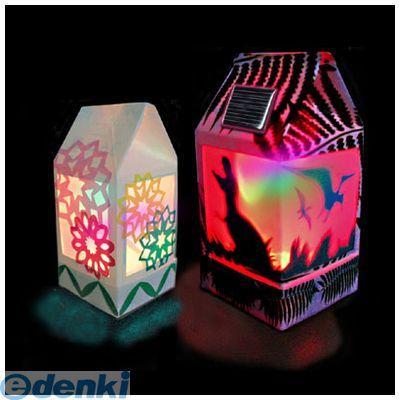 ELEKIT [JS-6114F] イーケイジャパン 〈 電子工作キット 〉牛乳パックソーラーランタン(フルカラー)
