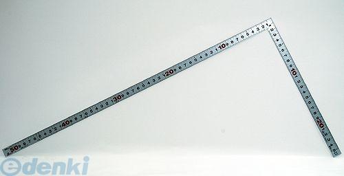 シンワ測定 [10016] 曲尺平ぴた シルバー 50� 裏面角目 JIS