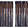 【個数:1個】ツボサン(TSUBOSAN)  KA010-04  直送 代引不可・他メーカー同梱不可 組ヤスリ 10本組 角 油目 KA01004