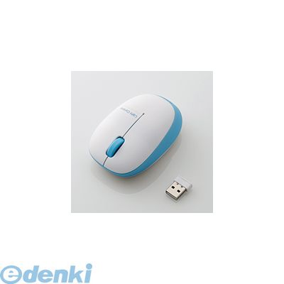 エレコム [M-BL20DBBU] ワイヤレスBlueLEDマウス M-BL20DBBU