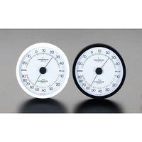 [EA728EB-31] 140mm 温度・湿度計 [白]【キャンセル不可】