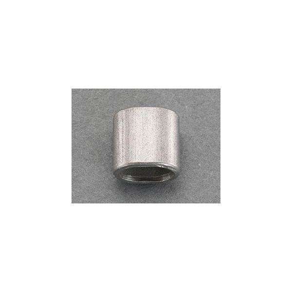 エスコ EA628SD-22 2.5mm ワイヤーロープスリーブ ステンレス/10個 EA628SD22