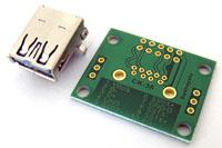 サンハヤト [CK-38] CK-38(USB3.0/Aメス コネクタ変換基板)