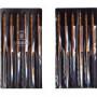 【個数:1個】ツボサン(TSUBOSAN)  KA012-04  直送 代引不可・他メーカー同梱不可 組ヤスリ 12本組 角 油目 KA01204