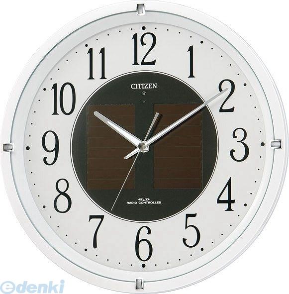 リズム時計工業 [4MY806-003]「直送」【代引・後払い不可】 エコライフM806