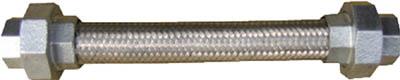 【個数:1個】南国フレキ工業 [NK100-15-300]「直送」【代引不可・他メーカー同梱不可】 NFK ユニオンカラー式フレキ ユニオンFCMB 15A×300L