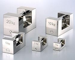 村上衡器製作所 [MURAKAMI0264] 単品M2級5kgステンレス製まくら型分銅