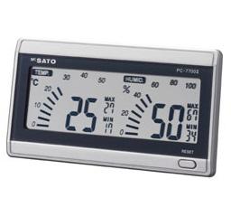 佐藤計量器製作所 [PC-7700II] デジタル温湿度計