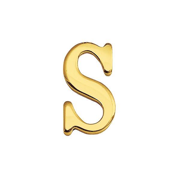 ゴーリキアイランド 820119 真鍮製切り文字 30サイズ 大文字 ブラスレター 金色 30mm S 真鍮 アンティーク レトロ 表札文字