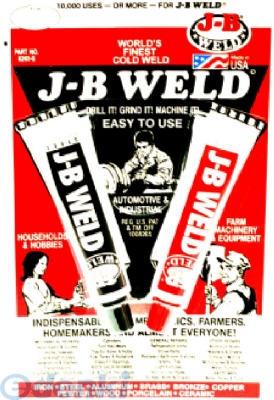 J-B WELD CO [V826558] 8265−S 2液型強力接着剤 28g