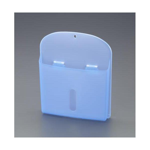 エスコ EA762FG-316 333x269x51mm マグネットポケット ブルー EA762FG316