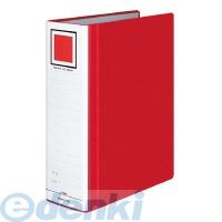 コクヨ [フ−RT680R] チューブファイル<エコツインR>A4縦80mm800枚収容2穴赤 フ−RT680R
