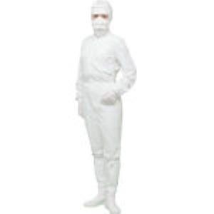 Linet FX121C-01-3L 着用快適クリーンスーツ ホワイト 3L FX121C013L【キャンセル不可】